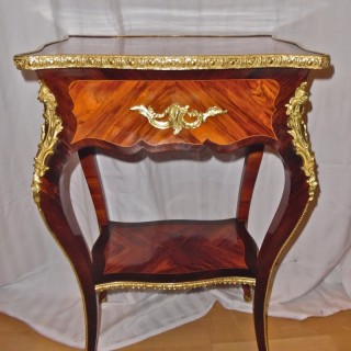 A French Louis XV style side table