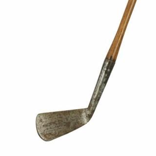 Vintage Hickory Shafted Forgan Golf Club, Iron.