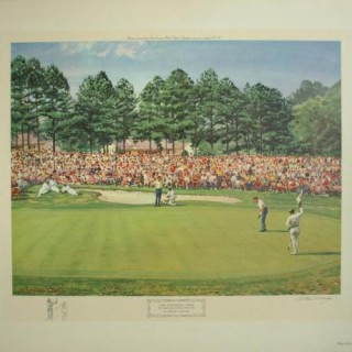 The US Masters Golf Tournament.