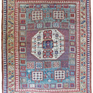 Antique Karachov rug, Caucasian