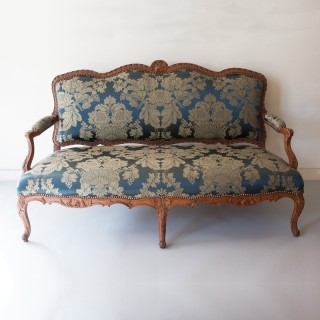 LOUIS XV BEECH CANAPÉ OR SOFA