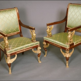 French Second Empire Chairs