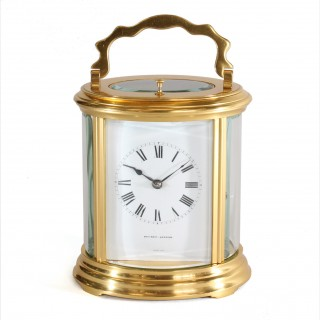 Repeating Oval Carriage Clock by Asprey, London