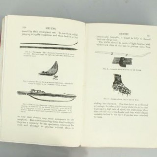 VINTAGE BOOK, 'THE BOOK OF WINTER SPORT', FIRST EDITION, SYRES.
