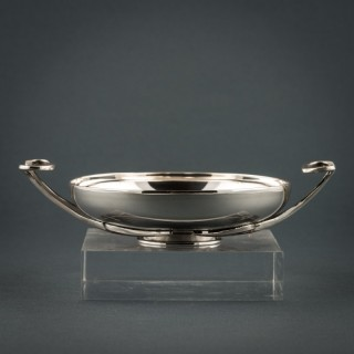 LALAOUNIS SILVER BOWL WITH HANDLES