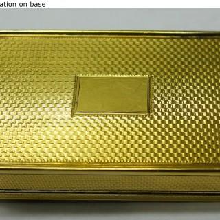 Antique Silver Pedlar Snuff Box