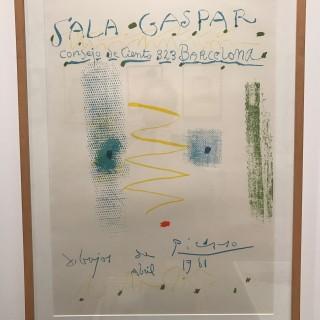 Affiche, avril 1961 - Dibujos de Picasso