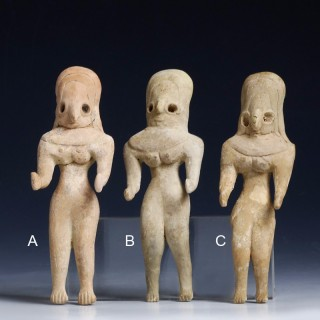 Indus Valley Chalcolithic Fertility Figures