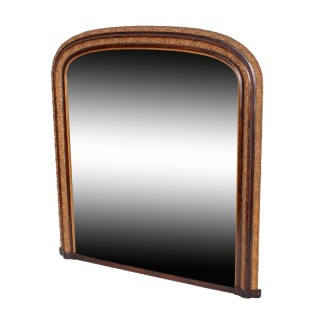 Victorian Overmantel Wall Mirror