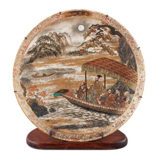 Late 19th Century Satsuma Plaque