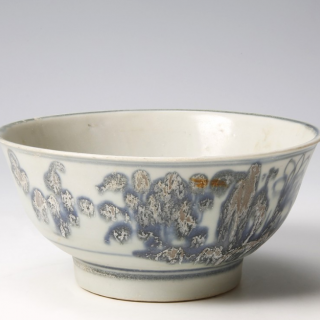Tek Sing Bowl With Flowers
