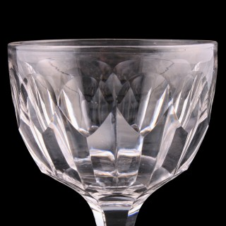 Set of Six White Wine Glasses