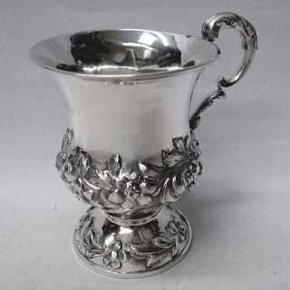 Antique Silver Christening Mug