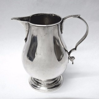 Antique George II Silver Jug