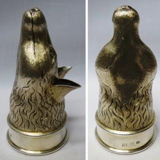 Vintage Silver Fox Stirrup Cup