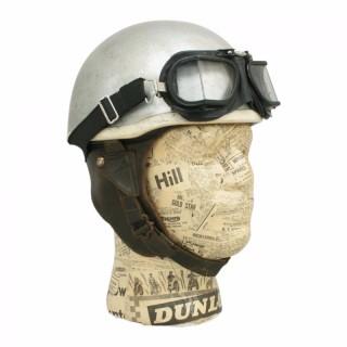 Vintage Cromwell 'Noll' Motorcycle Crash Helmet.