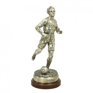 Vintage Spelter Football Figure