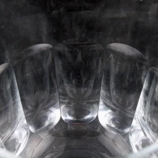 12 Georgian Style Wine Glasses