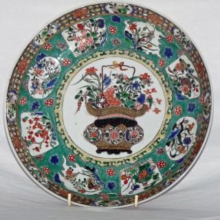 Kangxi Famille Verte Deep Plate