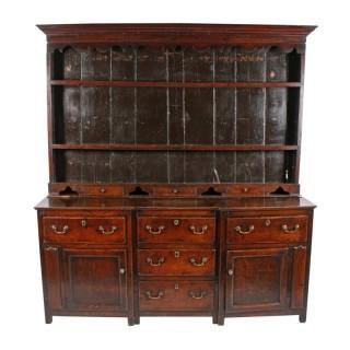 18th Century Oak Dresser & Rack