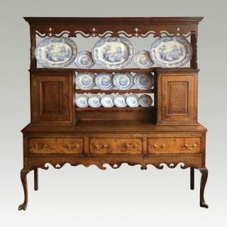 George II oak dresser