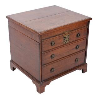 18th Century Georgian Oak Box