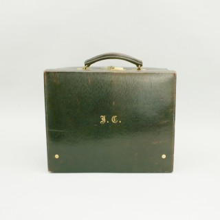 Vintage Leather Travellers Case