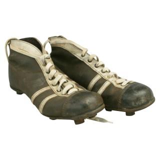 Vintage Leather Football Boots.