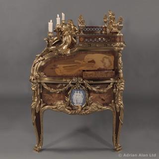 Le Bureau Du Roi - A Magnificent Secrétaire à Cylindre, by François Linke