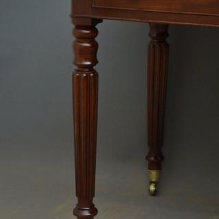 William Iv Mahogany Writing Table Lapada