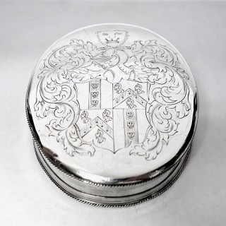 Antique James II Silver Tobacco Box