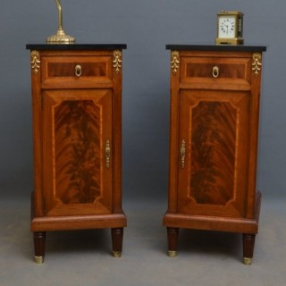 Pair of XIXth Century Bedside Cabinets