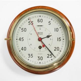 Smiths astral bulkhead clock, 8 inch