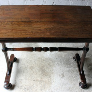 A Handsome Late Regency Period Rosewood Side or Centre Table c.1825