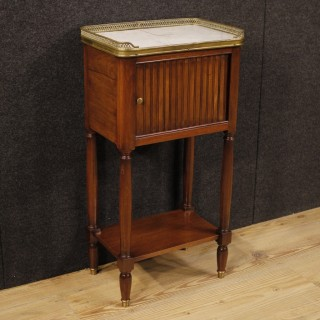 20th Century French Night Stand In Mahogany Wood