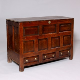 Welsh oak chest