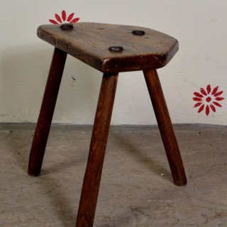 Welsh primitive stool