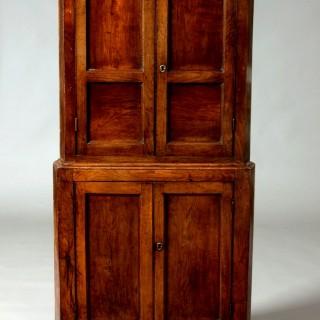 Small Welsh corner cupboard
