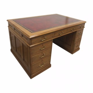Victorian Walnut Partners Desk