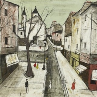 Street in Montmartre by Charles Levier