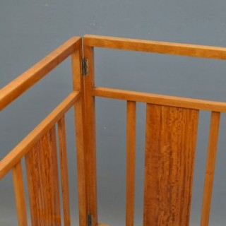 Waring & Gillow Satinwood Towel Rail