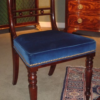 Regency period Mahogany Single Side Chair