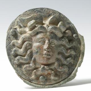Roman Large Phalera with Medusa