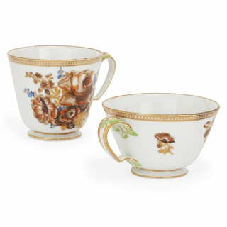 Fine Meissen porcelain antique tea and coffee set