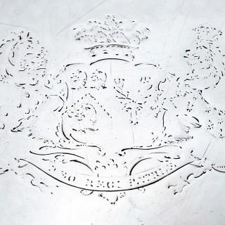 George III Silver Salver by Paul Storr