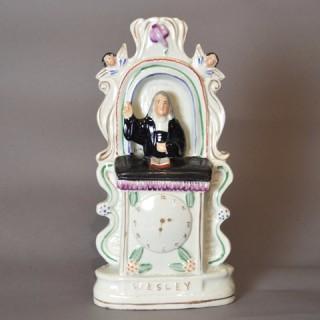John Wesley Staffordshire figure