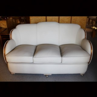 Art Deco Cloud Back Sofa