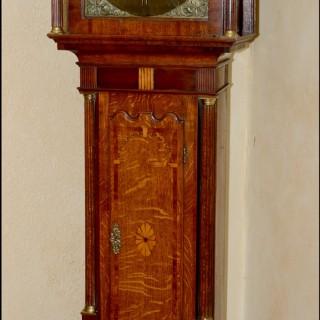 Longcase clock by John Baddley, Albrighton