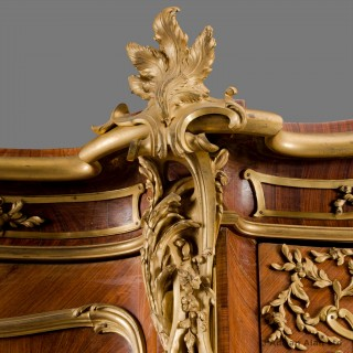 Gilt-Bronze Mounted and Marquetry Armoire