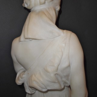 A French marble sculpture of Ruth by Vernet